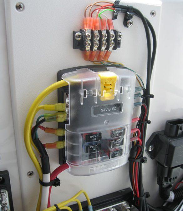marine wiring | octopus yachts, llc marine 120vac wiring